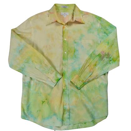 Hand-Dyed Oversized Dress Shirt - L/XL