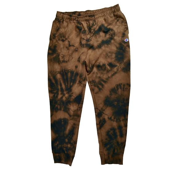 Hand-Dyed Champion Sweatpants - XL