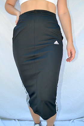 Reworked Adidas Midi-Skirt - S