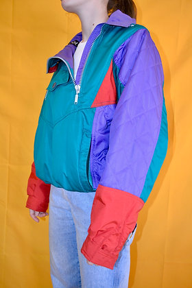 Vintage 80's Colorblock Jacket
