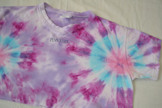 Hand-Dyed Penn State Tee