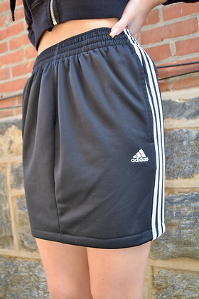 Reworked Adidas Skirt - L