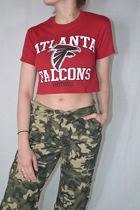 Cropped Falcons Tee