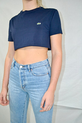 Cropped Lacoste Tee