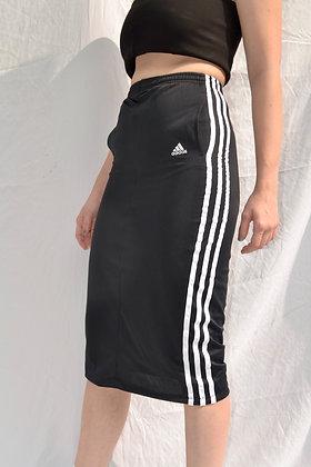 Reworked Adidas Midi Skirt