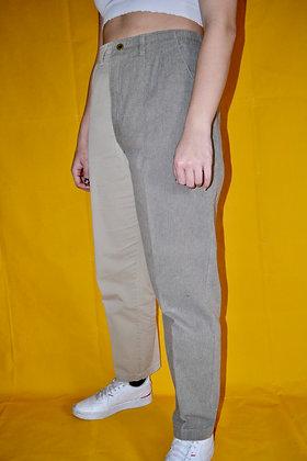 Reworked Split Trousers - L