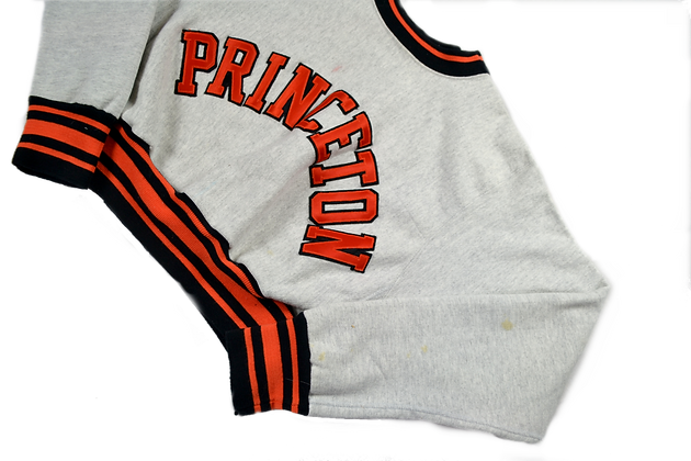 Reworked Cropped College Crew - L