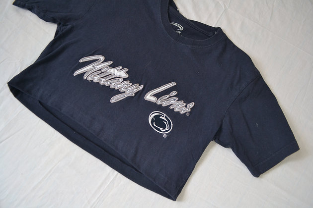 Cropped Penn State Tee