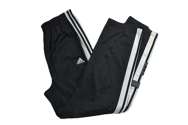 Vintage Adidas Snap-Button Pants - L