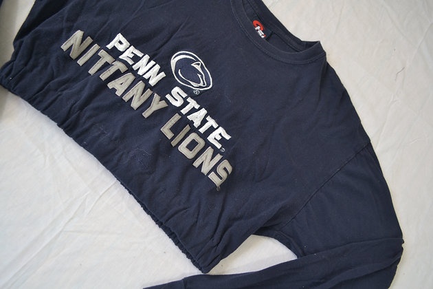Reworked Cinched Penn State Tee