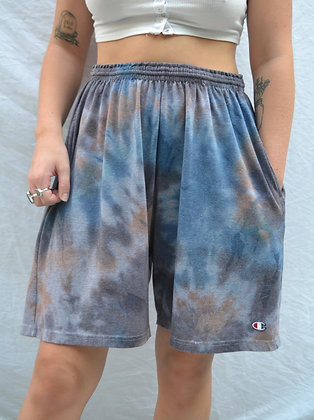 Hand-Dyed Champion Shorts