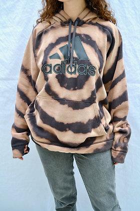 Hand-Dyed Adidas Hoodie