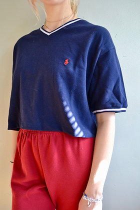 Cropped Polo by Ralph Lauren Tee
