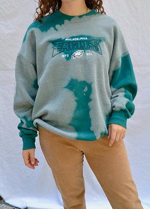 Hand-Dyed Philadelphia Eagles Crewneck