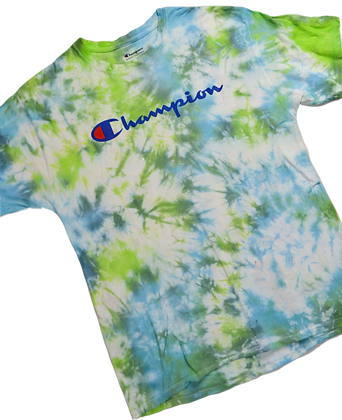 Hand-Dyed Champion Tee - L