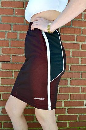 Reworked Reebok Skirt - S