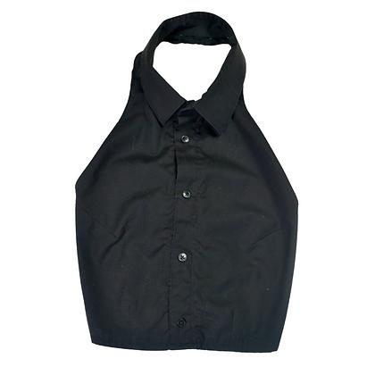Reworked Backless Dress Shirt - M