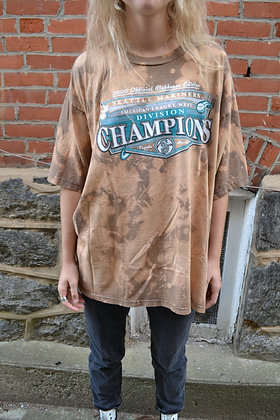 Hand-Dyed Mariners Tee - XL