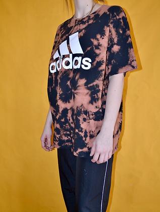 Hand-Dyed Adidas Tee - 2XL