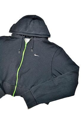 Reworked Cropped Nike Hoodie - M/L