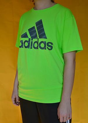 Vintage Neon Adidas Tee - L