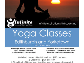 Term 2 2017 Yoga Classes