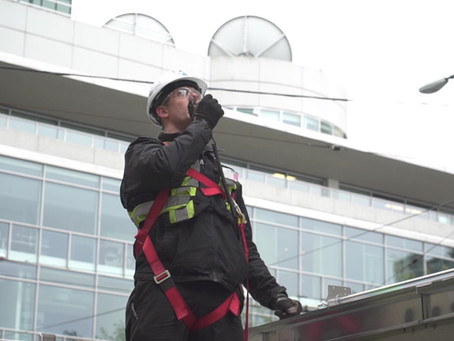 Case Study : Cooling Tower Replacement Warrington PCI 755 Burrard Vancouver