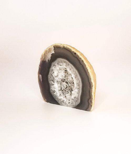 Polished Geode Half - Cut Base
