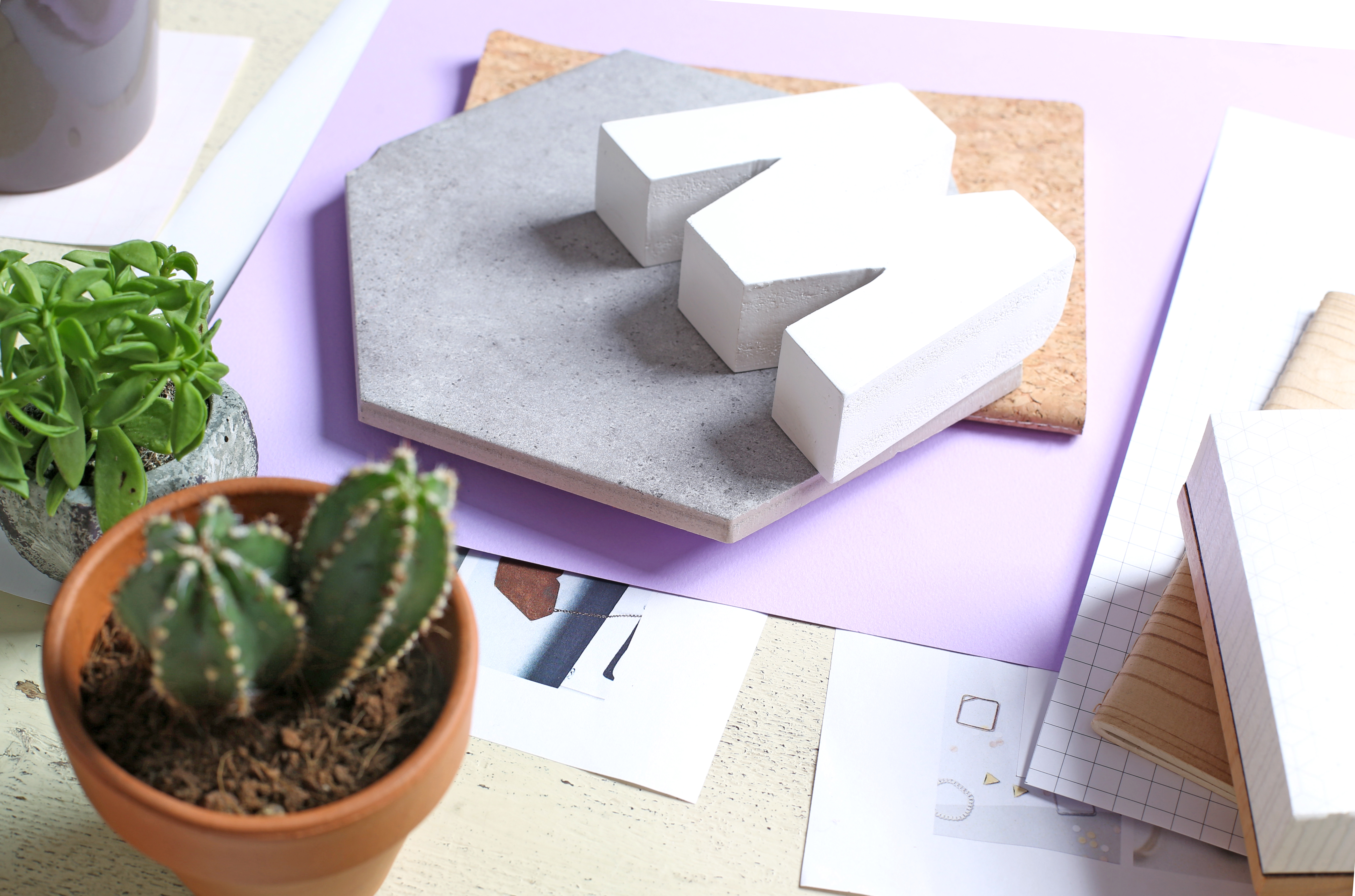 A mesa do Designer