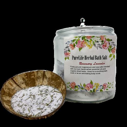 Rosemary Lavender Bath Salt