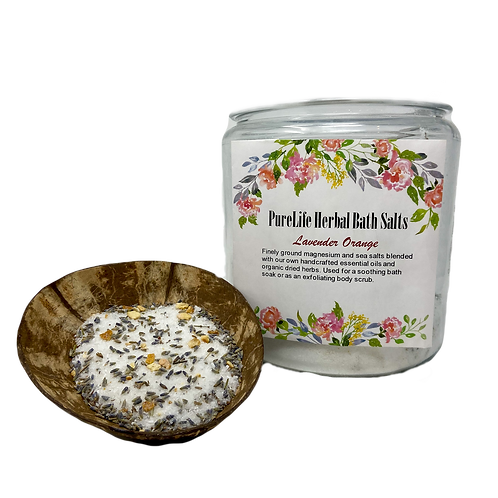 Lavender Orange Bath Salt