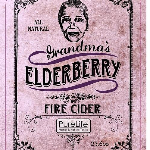 Grandma's Elderberry Fire Cider