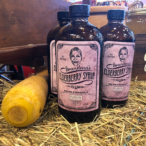 Grandma' Elderberry Syrup