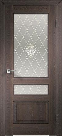 Межкомнатная дверь Laura 3V  с/о бронза