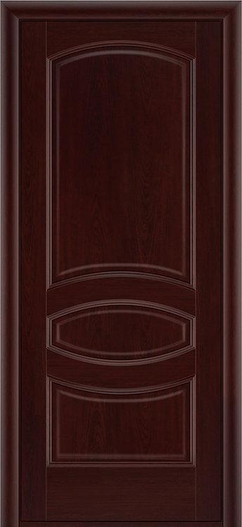 Межкомнатная дверь Ювелия глухое «махагон»