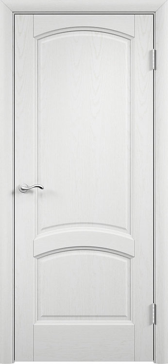 Межкомнатная дверь  Криста Лайт глухое «ясень айсберг»