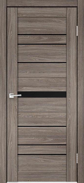 Межкомнатная дверь CITY 1 с/о чёрное ECO Flex