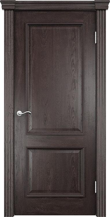 Межкомнатная дверь Лорд глухое «дуб патинированный»