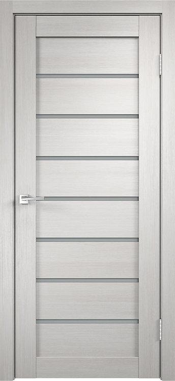Межкомнатная дверь Unica 1 с/о белое 3D Flex «белый»