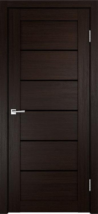 Межкомнатная дверь Linea 1 с/о чёрное