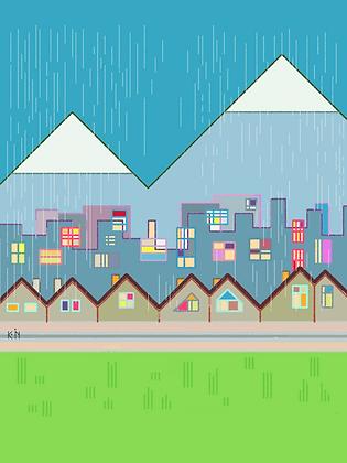 A Rainy Day in Luzern