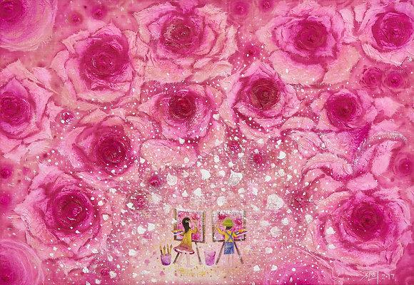 The Dreaming Girl-Rose
