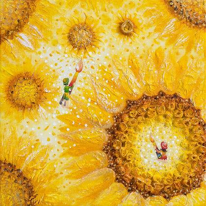 The Dreaming Girl - Sunflower