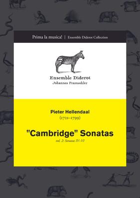 """EDC010 Hellendaal """"Cambridge"""" Sonatas Vol. 2"""