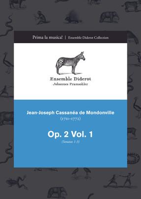 EDC014 Mondonville Trio Sonatas Op. 2, Vol. 1