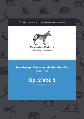 EDC015 Mondonville Trio Sonatas Op. 2, Vol. 1