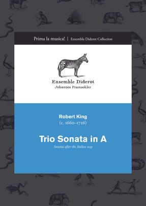 EDC007 King Trio Sonata in A