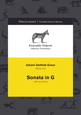 EDC021 Graun Sonata in G