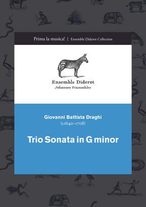 EDC005 Draghi Trio Sonata in G minor