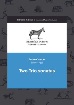 EDC002 Campra 2 Trio sonatas